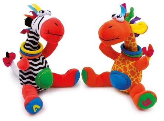 Jimmy en Cleo knuffels