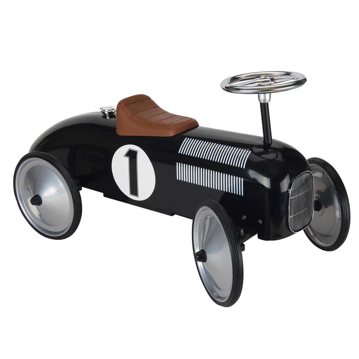 Retro loopauto zwart