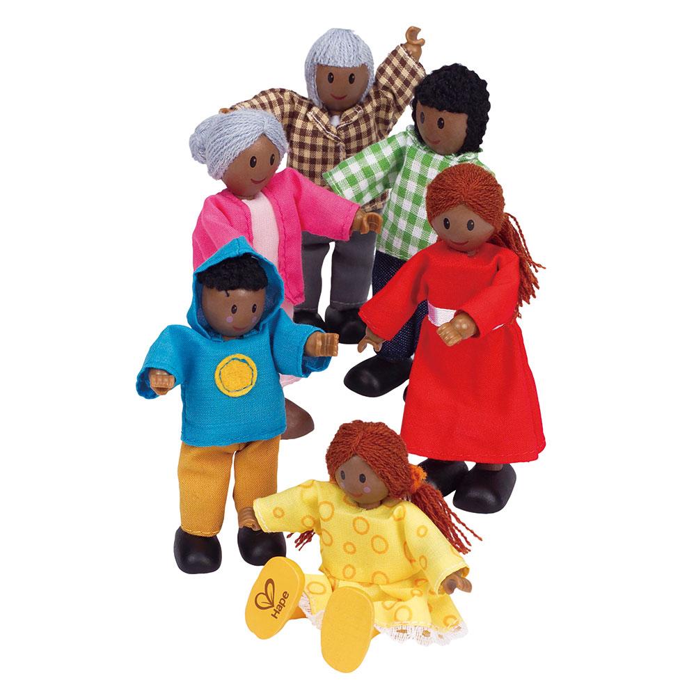 poppenhuis afrikaanse familie