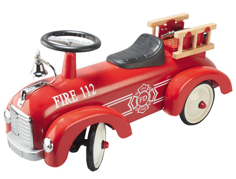 loopauto brandweerwagen