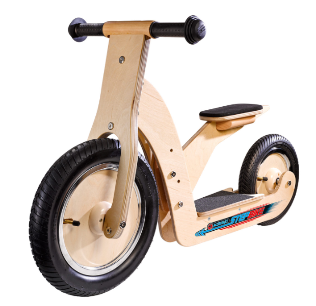 houten loopfiets
