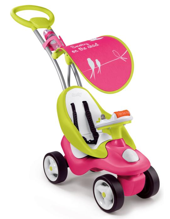 Smoby roze loopauto