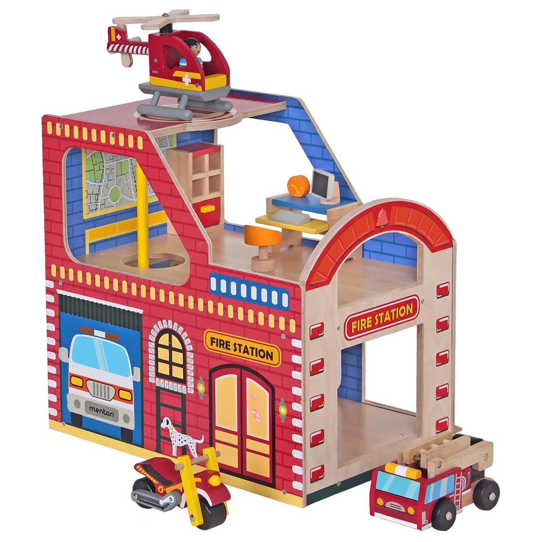 Mentari houten brandweerkazerne
