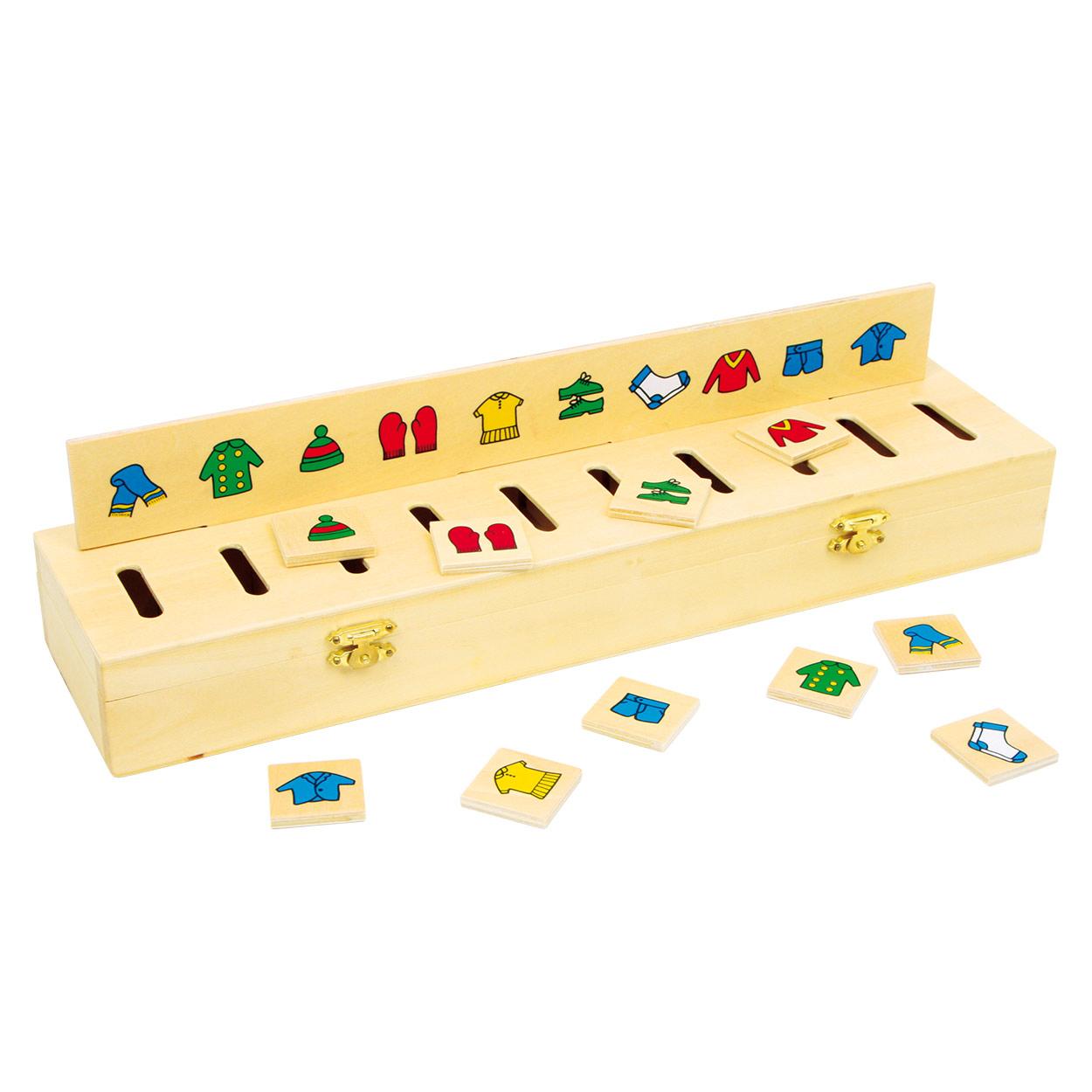 sorteerbox, houten spellen, puzzelen en sorteren, vanaf 3jaar, , motoriekspeelgoed, leerspeelgoed