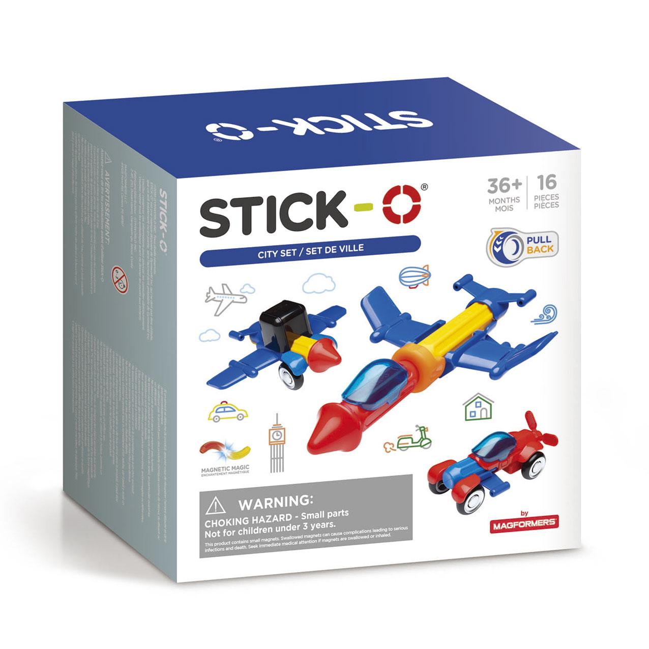 Stick-O magnetisch educatief
