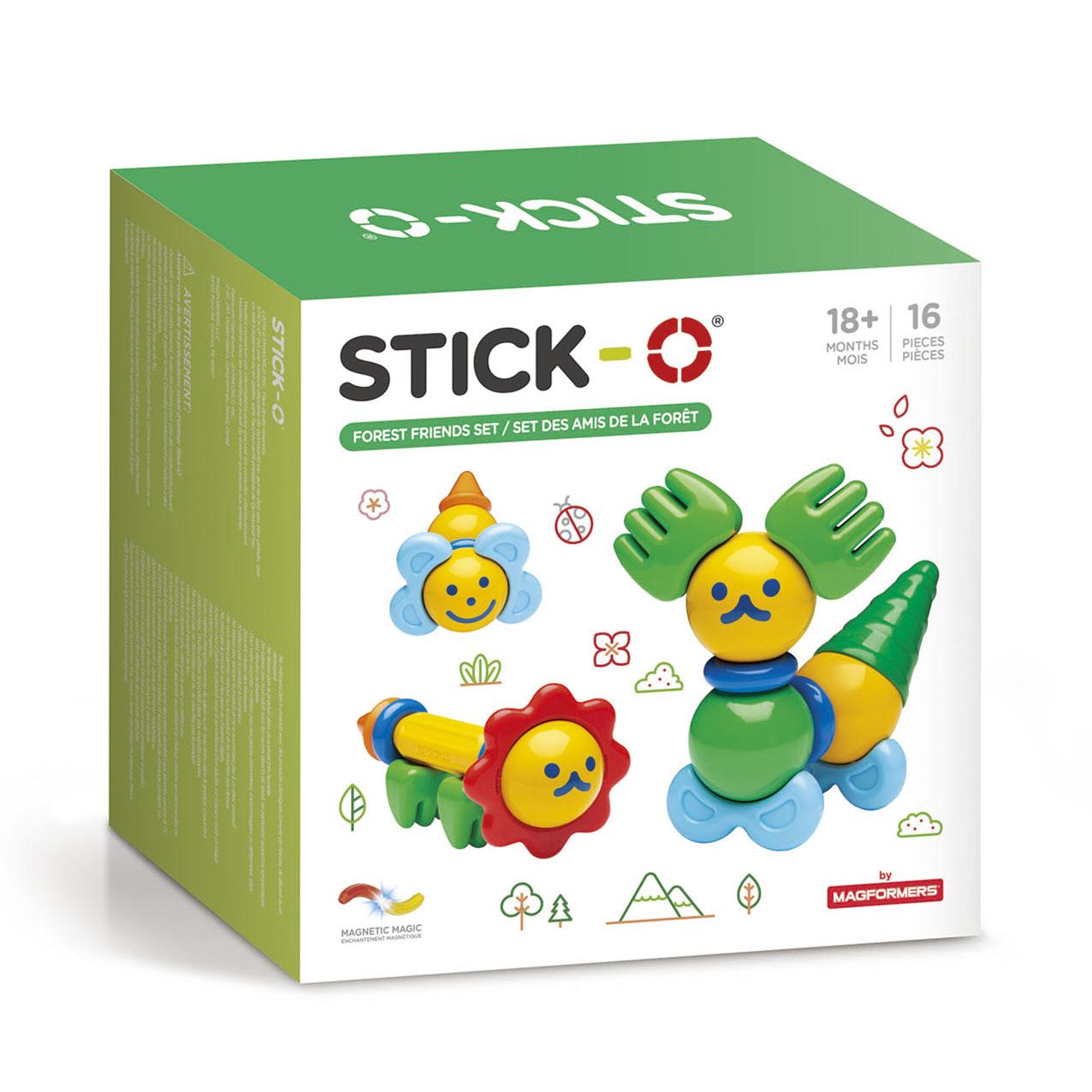 Stick-O Forest Friends magneet set